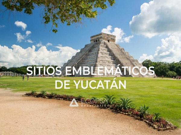 Sitios emblemáticos en Yucatán